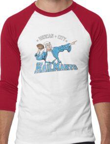 Vatican City Hailmarys Men's Baseball ¾ T-Shirt