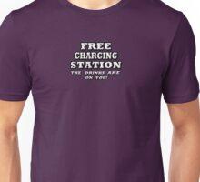 FREE CHARGING STATION Unisex T-Shirt