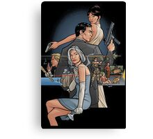 archer spy company Canvas Print