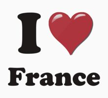 I Love France by ColaBoy