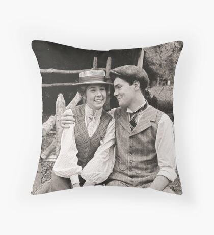 Anne and Gilbert Throw Pillow