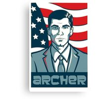 archer for america  Canvas Print