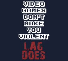 Fault of Lag Kids Tee