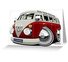 VW split-screen bus Greeting Card