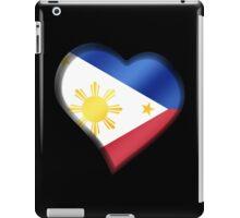 Filipine Flag - Philippines - Heart iPad Case/Skin