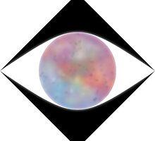 Galactic Eye (White) by kkkevinacunaaa