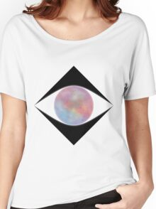 Galactic Eye (White) Women's Relaxed Fit T-Shirt