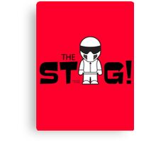 The Stig Canvas Print