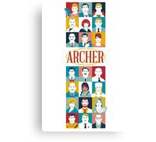 all archer  Canvas Print