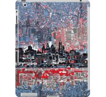 philadelphia skyline 4 iPad Case/Skin