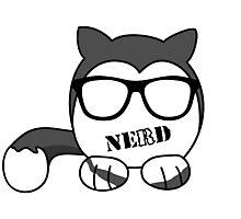 Cat Nerd Photographic Print