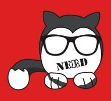 Cat Nerd Kids Tee