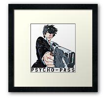 Anime: PSYCHO-PASS Framed Print