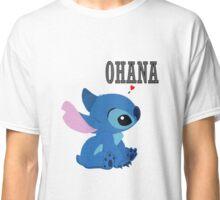 Stich Love Ohana Classic T-Shirt