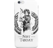 What Do We Say? iPhone Case/Skin