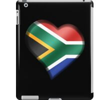South African Flag - South Africa - Heart iPad Case/Skin