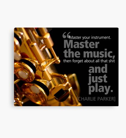 Just Play Canvas Print
