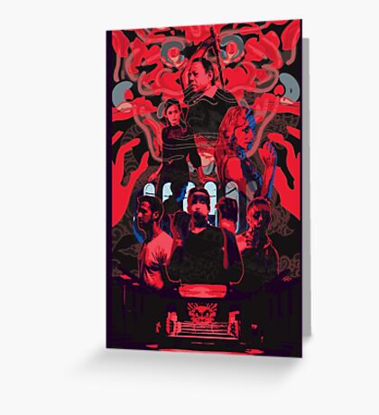only god forgives Greeting Card