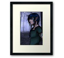 Elf forest Framed Print