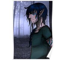Elf forest Poster