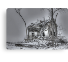 Frozen in Silence Canvas Print