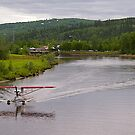 Piper Super Cub Floatplane, Fairbanks, Alaska. 2012. by johnrf