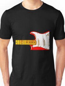 Red Guitar Unisex T-Shirt