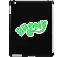 Brony Logo - Green iPad Case/Skin