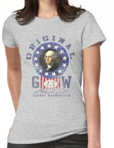george washington Womens Fitted T-Shirt