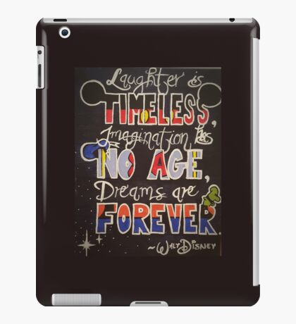 It All Began With A Mouse... iPad Case/Skin
