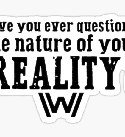 Westworld Sticker
