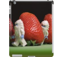 Hide n' Seek in the Strawberry Forest iPad Case/Skin