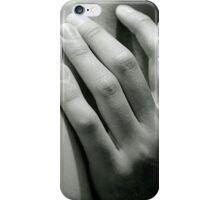 Body study: The Hand and Collarbone iPhone Case/Skin