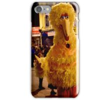 Big Bird - on Streets of Derry, Halloween 2012 iPhone Case/Skin