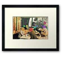 Bar with a view (without frame). Framed Print