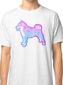 Vaporwave Dog Full Doggo Aesthetic Classic T-Shirt
