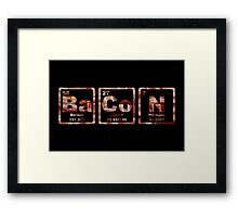 Bacon - Periodic Table - Photograph Framed Print