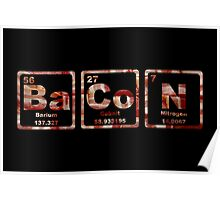 Bacon - Periodic Table - Photograph Poster