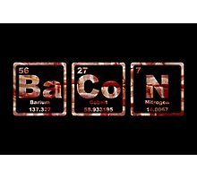 Bacon - Periodic Table - Photograph Photographic Print