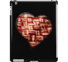 Bacon - Heart - Woven Strips iPad Case/Skin