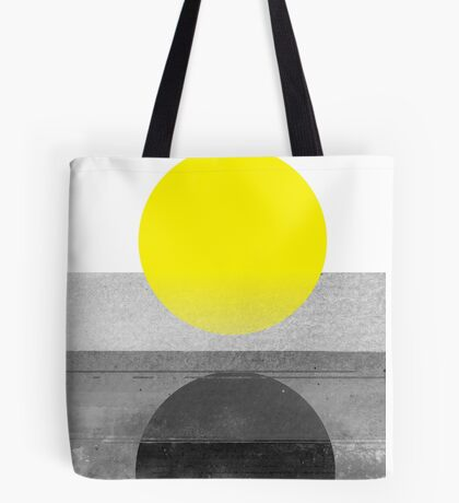 Yellow #abstract  Tote Bag