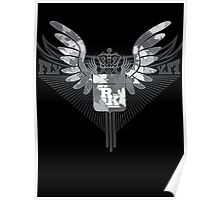 Fly High - Rootsking Clothing (black) Poster