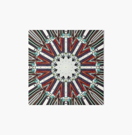 Earth Tones Abstract Art Board