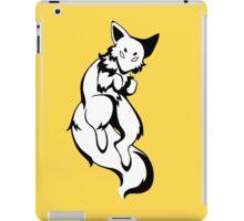 Inky Fox - Black & White iPad Case/Skin