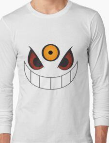 Mega Gengar Close-Up Long Sleeve T-Shirt