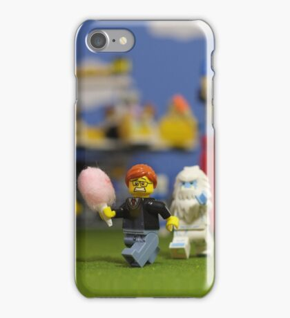 Warning: Cotton Candy Attracts Yeti iPhone Case/Skin