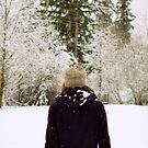 girl in the white hat by Savannah Regier