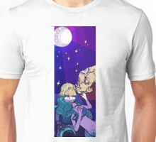 The mermaid and the sailor Unisex T-Shirt