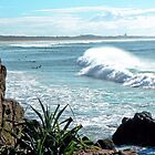 Surfing Cabarita by Graeme  Hyde
