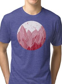 Sunset Mountain ! Tri-blend T-Shirt